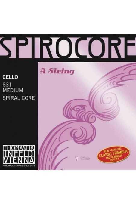 Spirocore Chrome A String For Cello