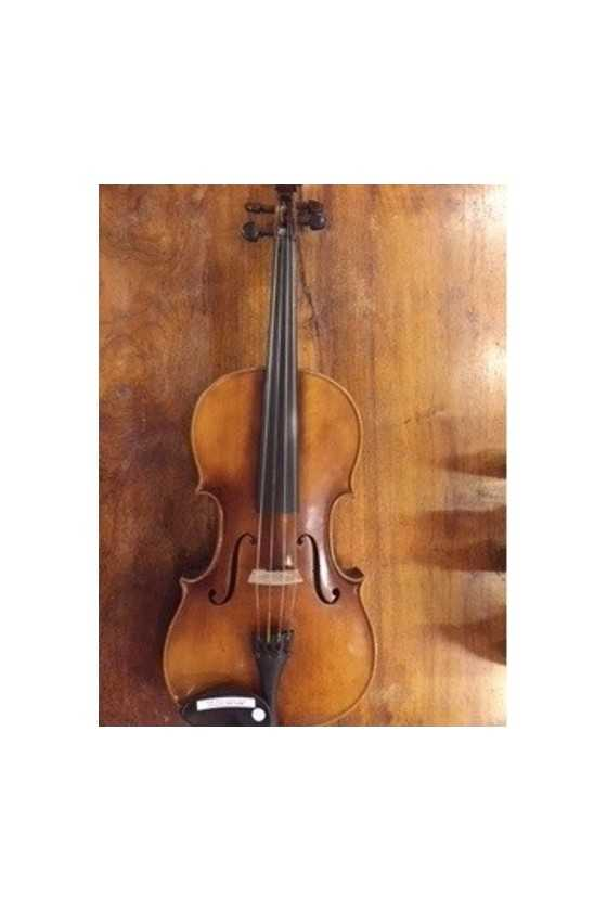 E.R. Pfretzschner 16.5 Inch Viola West Germany 1953