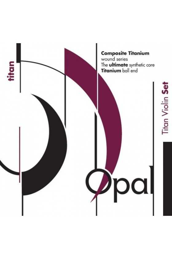 Opal Titan Violin Strings Set