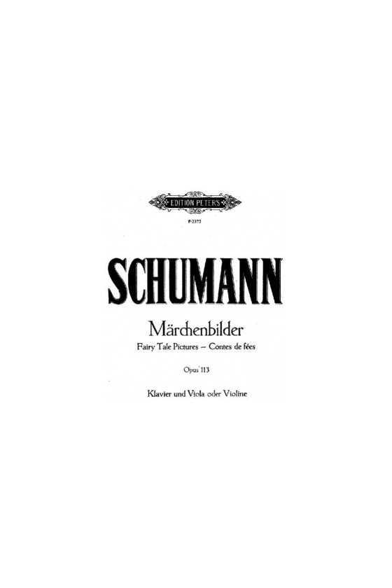 Schumann, Marchenbilder...
