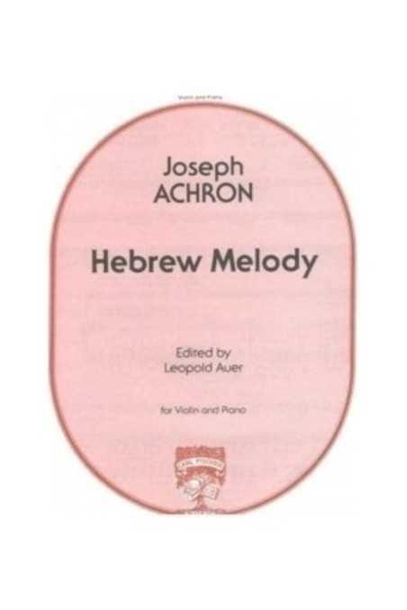 Achron Hebrew Melody For Violin (Fischer)