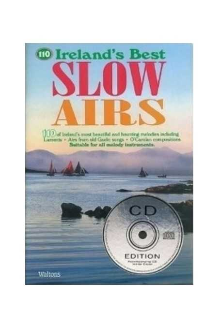 Irelands Best Slow Airs For Violin Incl. CD (Walton)