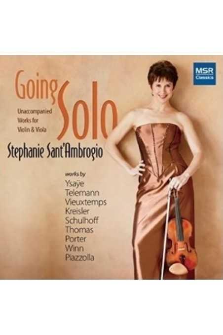 Kreisler, Recitativo And Scherzo Caprice Op. 6 For Solo Violin