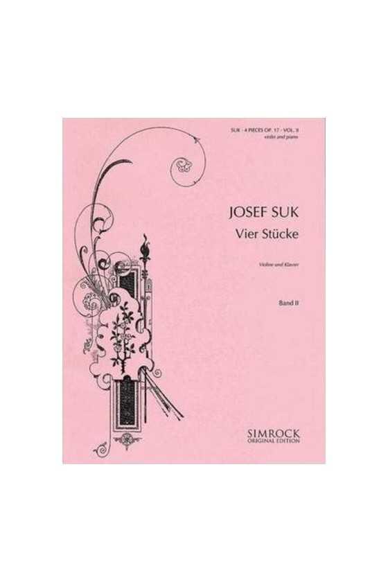 Suk, 4 Stucke For Violin...