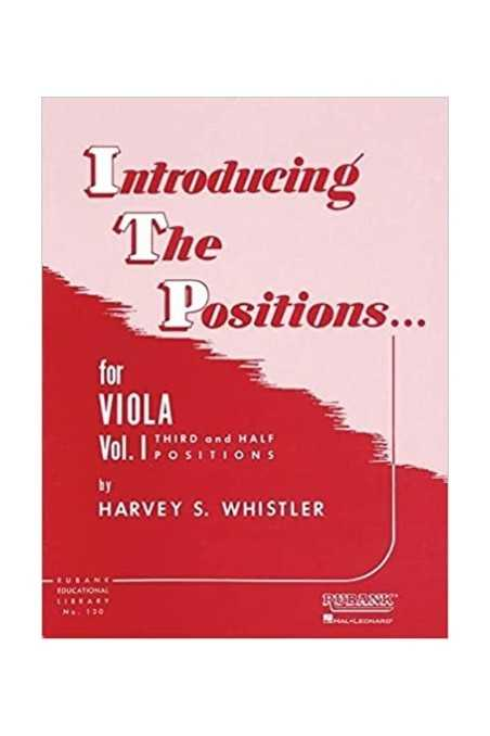 Whistler, Introducing The Positions for Viola Vl 1