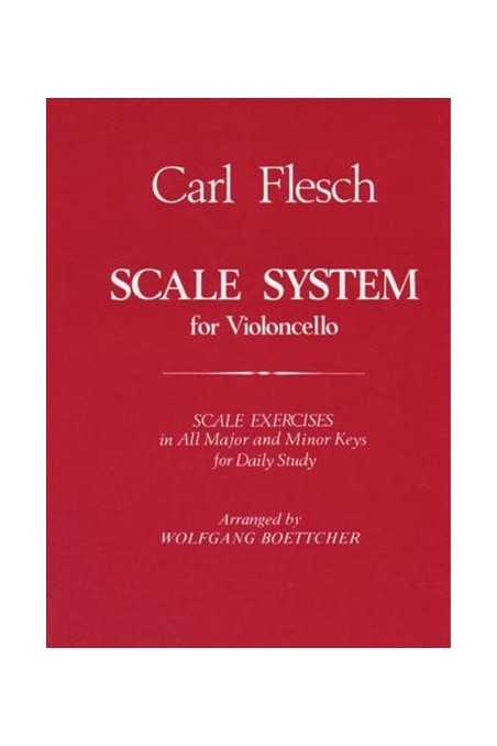 Flesch, Scale System For Cello