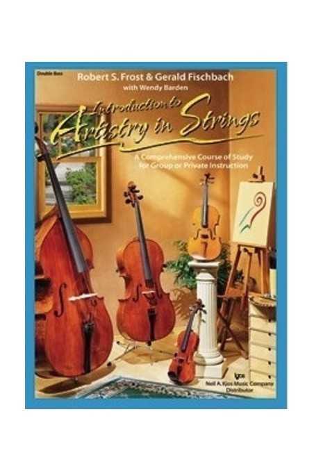 Artistry In Strings Double Bass Bk 1