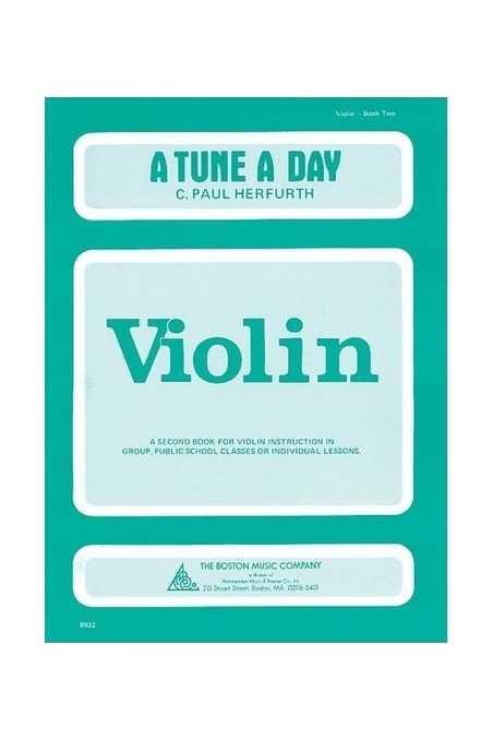 A Tune A Day Violin Bk 2