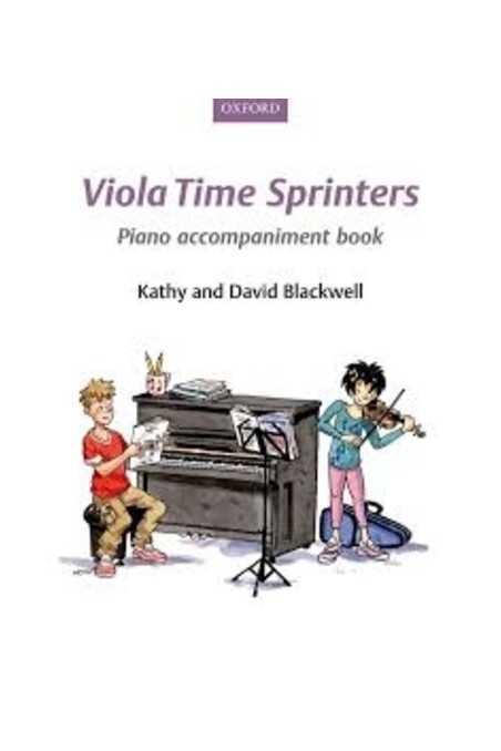 Viola Time Sprinters Piano Accompaniments