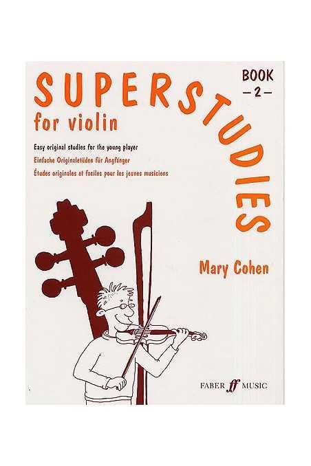 Cohen, Superstudies Bk 2 For Violin
