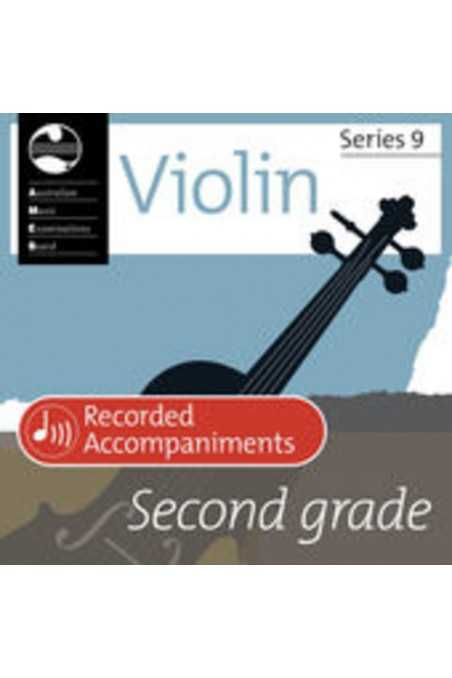 AMEB Violin Grade 2 Recorded Accompaniments (Series 9)