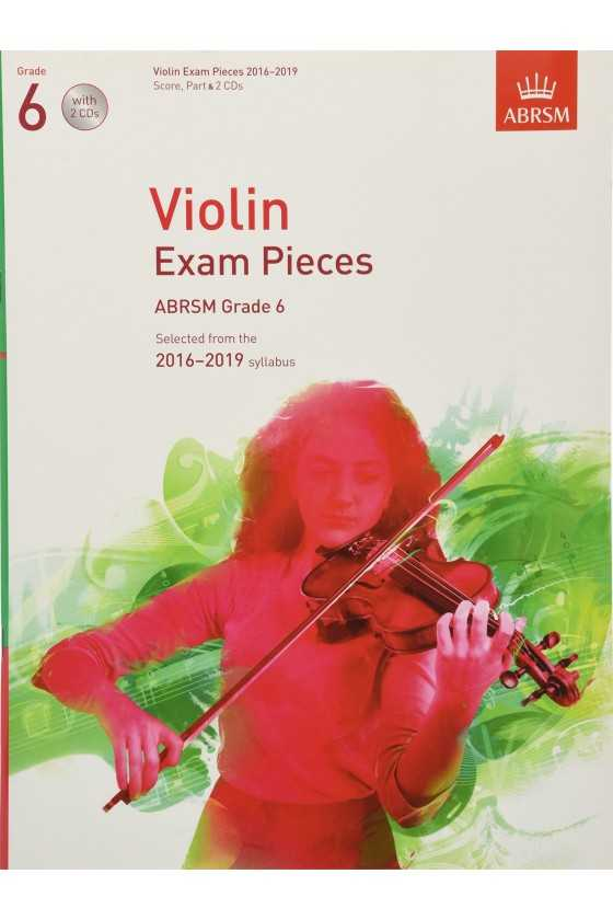 ABRSM Violin Exam Pieces 2016–2019 Violin part only
