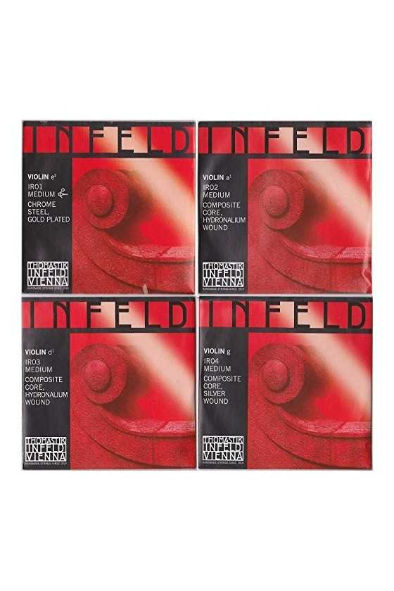 Infeld Red Violin String Set - Medium Composite Core