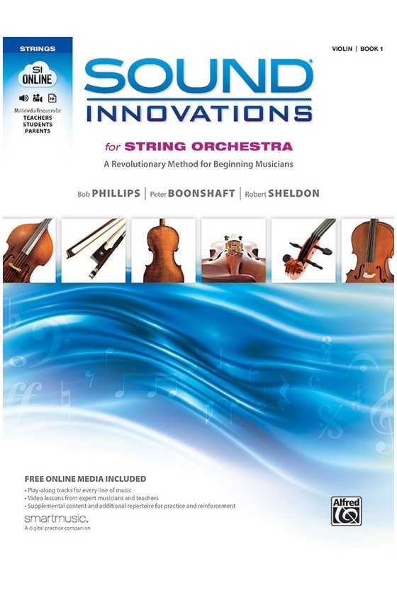 Sound Innovations for String Orchestra Violin Book