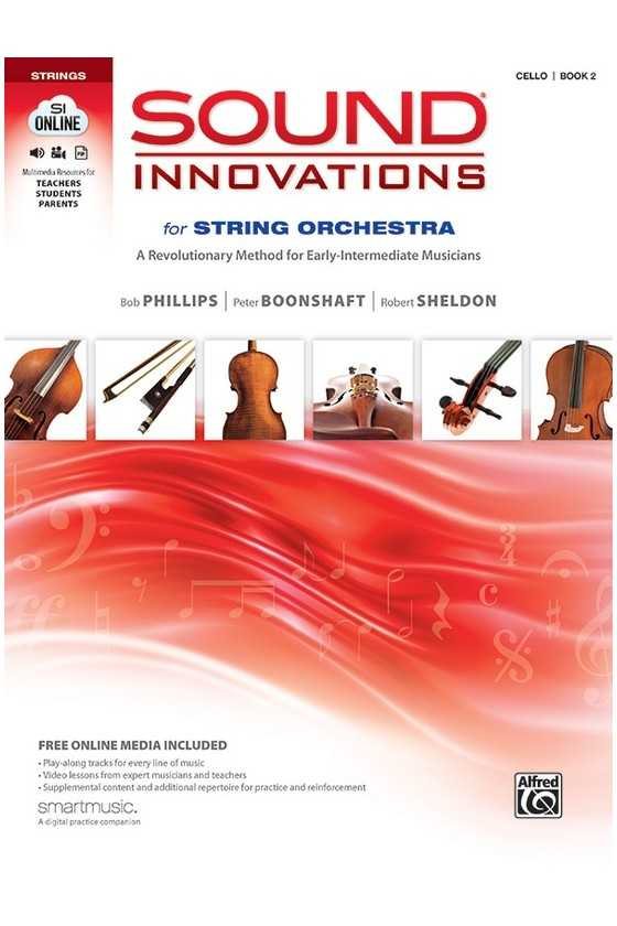 Sound Innovations for String Orchestra Cello Book