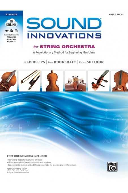 Sound Innovations for String Orchestra Double Bass Book
