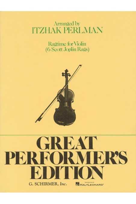 Perlman - 6 Scott Joplin Rags for Violin (Schirmer)