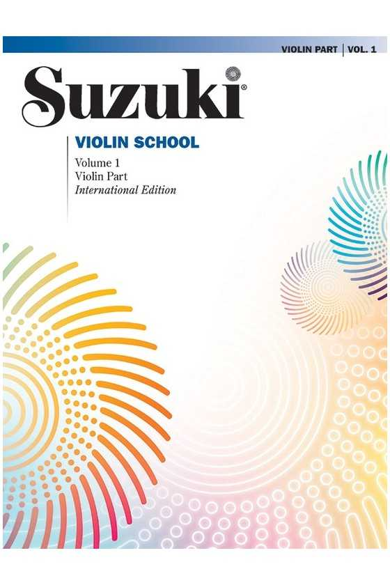 Suzuki Violin School Book Only, No CD