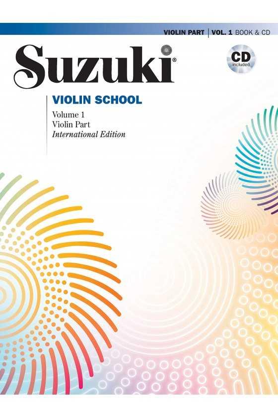 Suzuki Violin School Book with CD