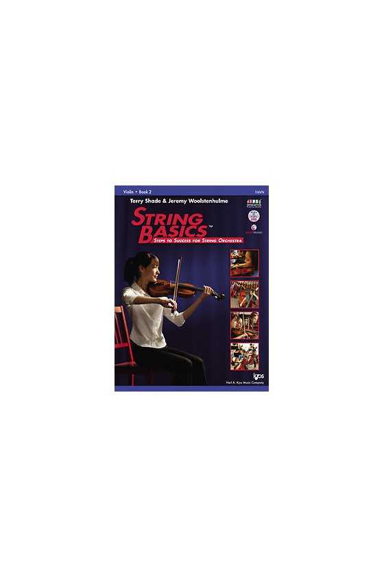 String Basics Violin Book 1, 2, 3