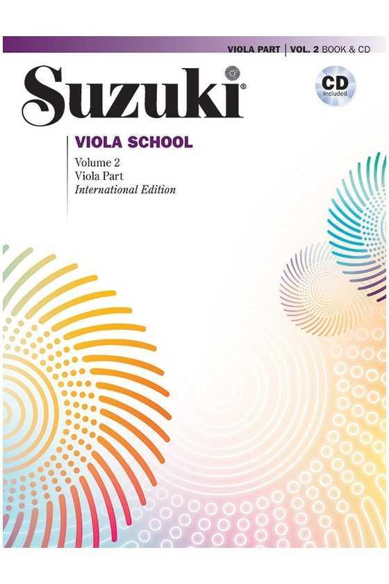 Suzuki Viola School Book With CD