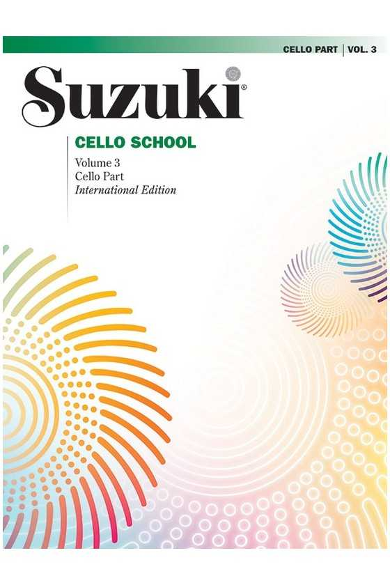 Suzuki Cello School, Book only without CD