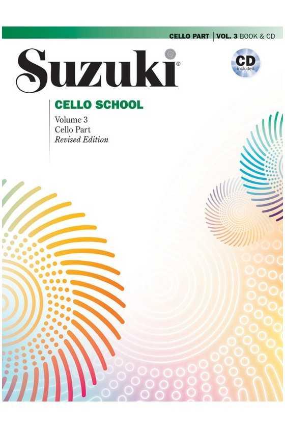 Suzuki Cello School, Book with CD