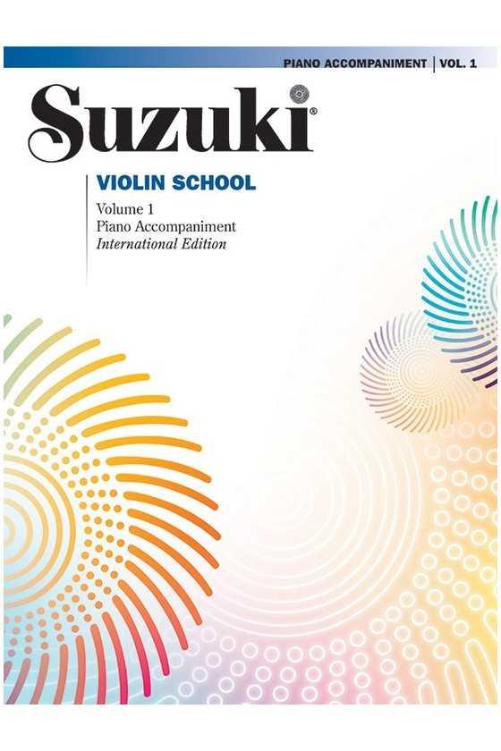 Suzuki Violin School Piano Accompaniments