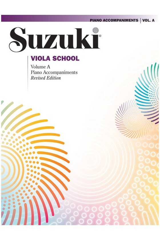 Suzuki Viola School Piano Accompaniment