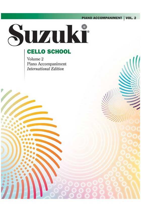 Suzuki Cello School, Piano Accompaniment Only