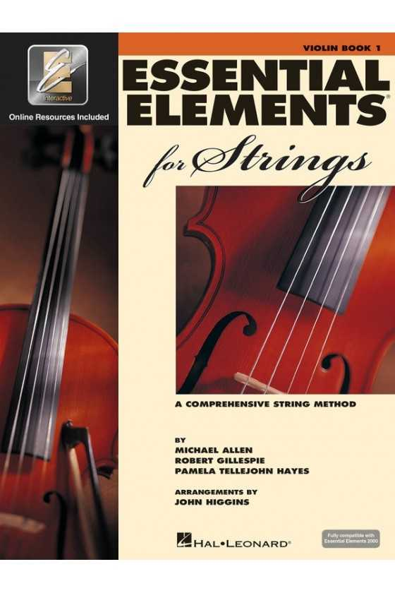Essential Elements Violin Bk1/Bk2/Bk3
