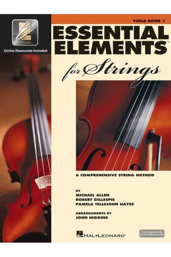 Essential Elements Viola Bk1/Bk2/Bk3