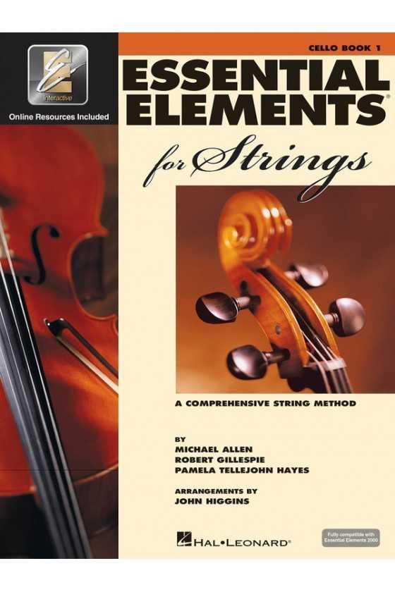 Essential Elements Cello Bk1/Bk2/Bk3