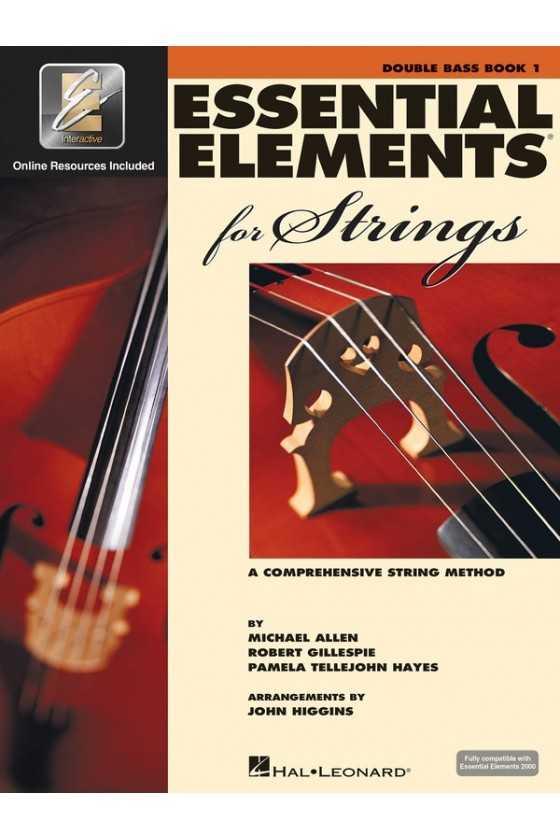 Essential Elements Double Bass Bk1/Bk2/Bk3