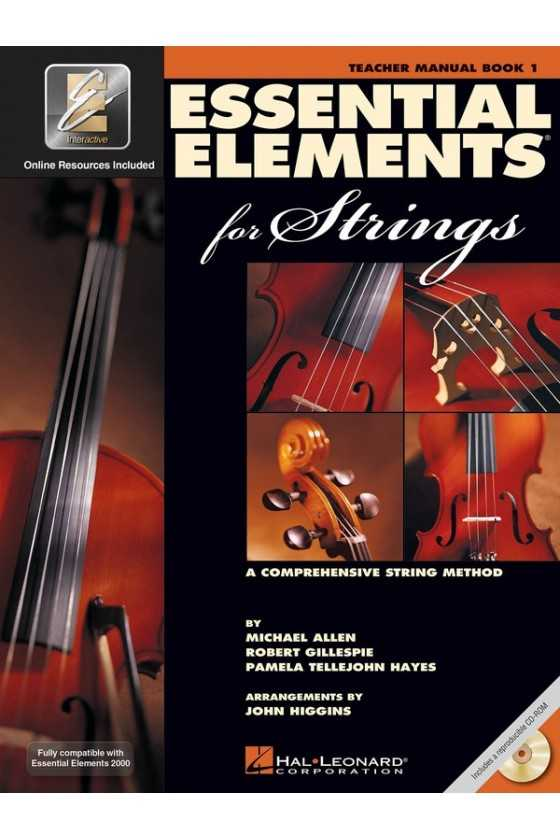 Essential Elements for Strings Teachers Manual Bk1/Bk2/Bk3