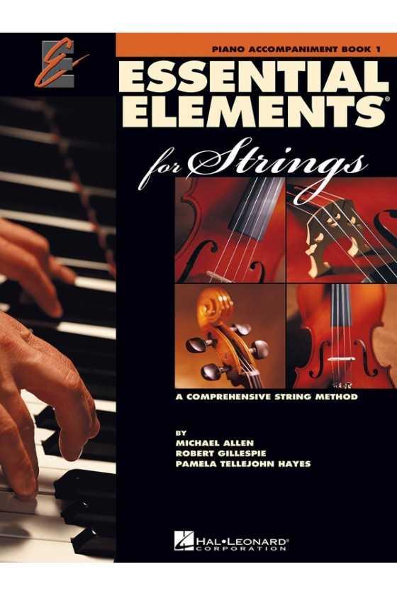 Essential Elements for Strings Piano Accompaniment Bk1/Bk2/Bk3
