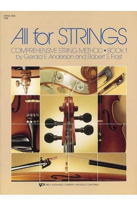 All For Strings Double Bass Book 1