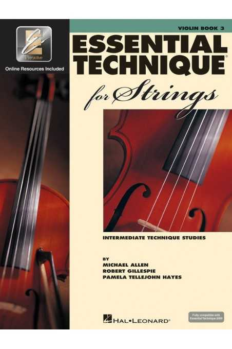 Essential Elements Violin Bk3