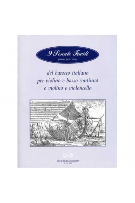 9 Sonate Facili Del Barocco Italiano (EMB)