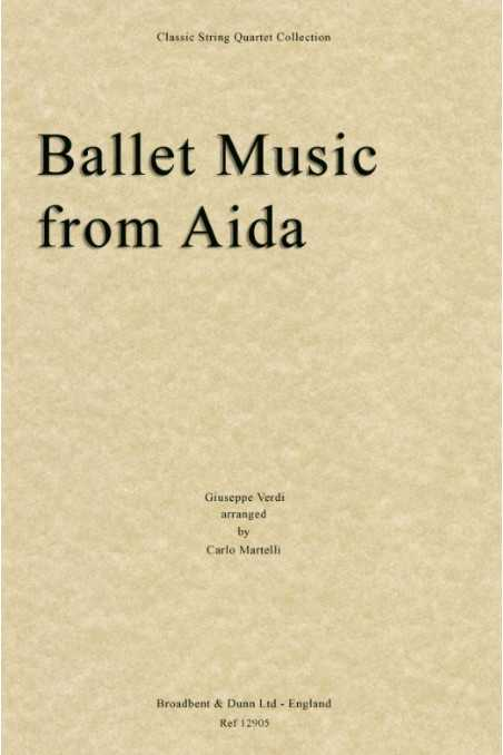 Ballet Music From Aida, Arr By Carlo Martelli