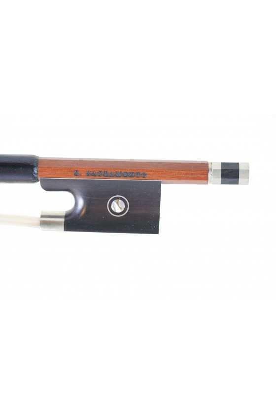 Pernambuco violin bow by S Sacramento