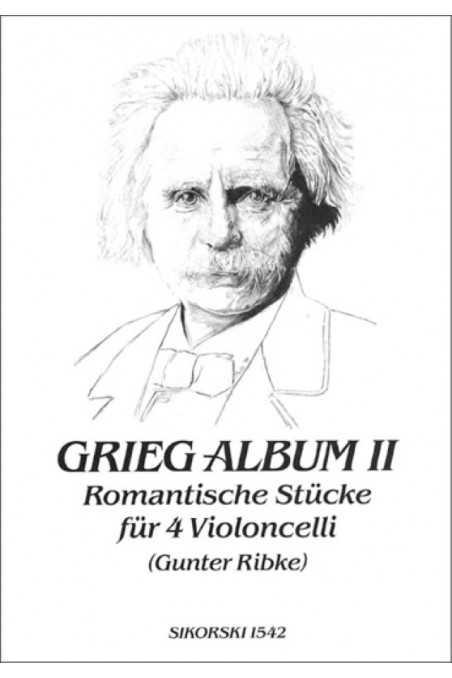 Grieg, Album 2 Romantic Pieces For 4 Cellos