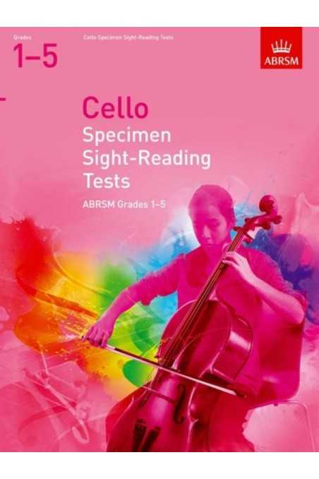 ABRSM Cello Specimen Sight-Reading Gr 1-5