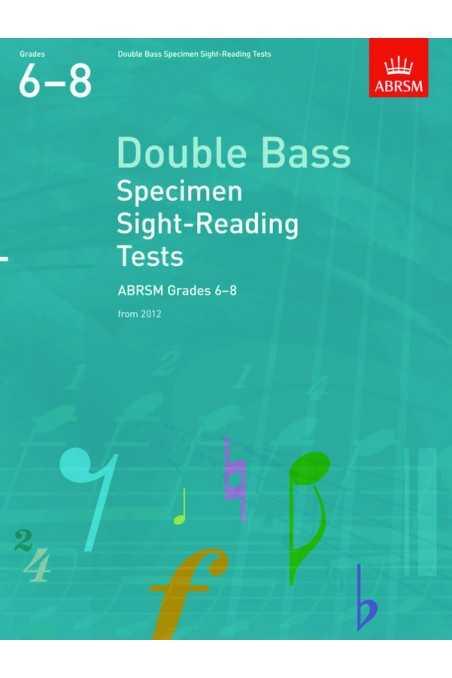 ABRSM Double Bass Specimen Sight-Reading Gr 6-8