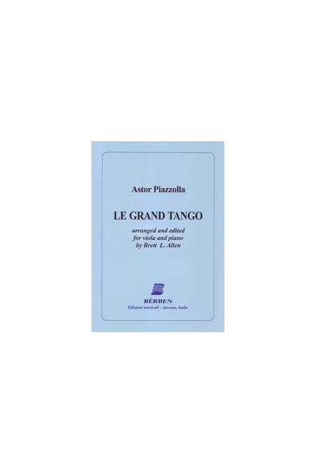 Piazzolla, Le Grand Tango for Viola and Piano (Berben)