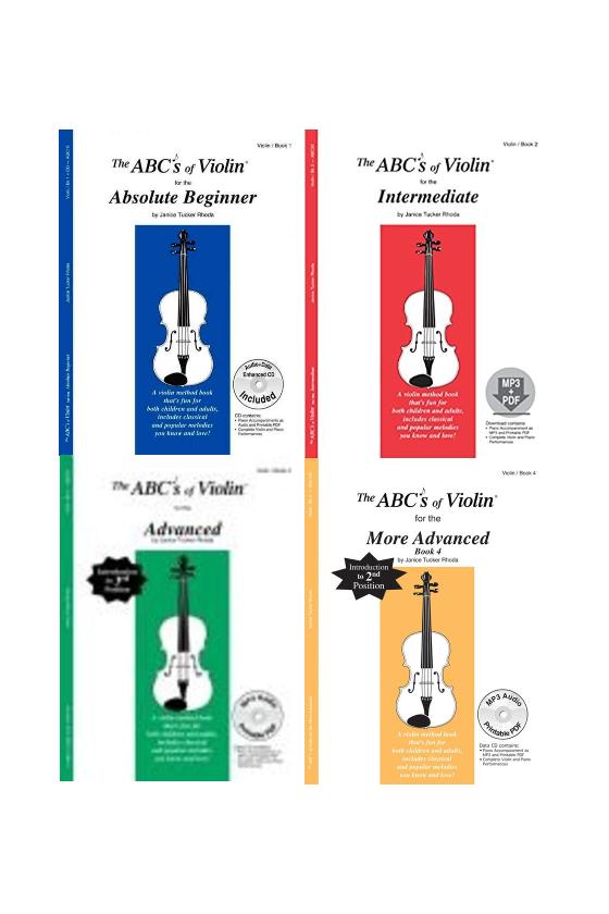 The ABC's Of Violin Book -Pls choose a volume