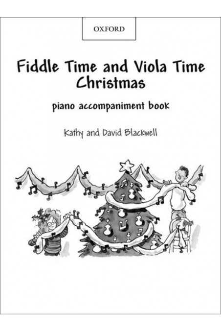 Piano Accompaniment - Fiddle and Viola Time Christmas
