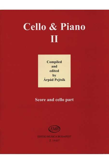 Cello & Piano II Compiled By Pejtsik (EMB)