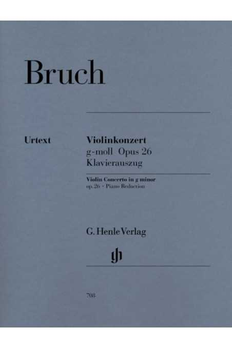 Bruch, Concerto in G Minor Op. 26 for Violin and Piano (Henle)