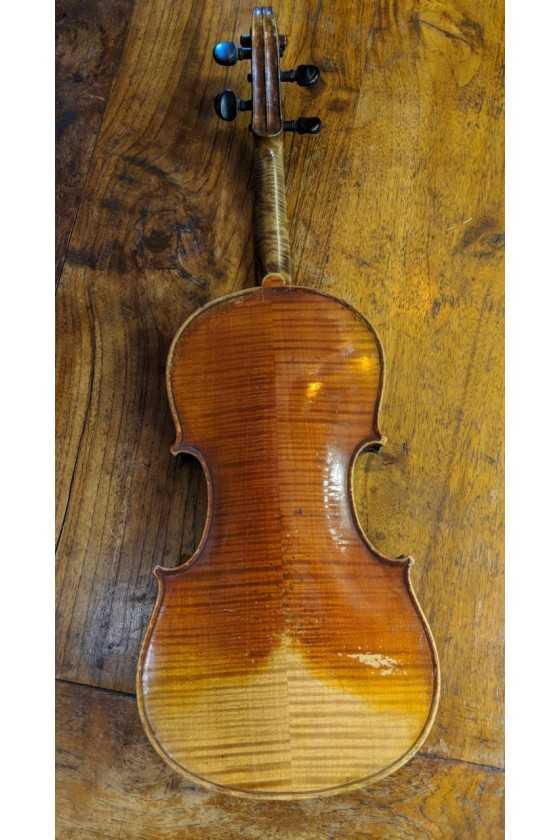Violin Labelled Charles Gaillard 1867
